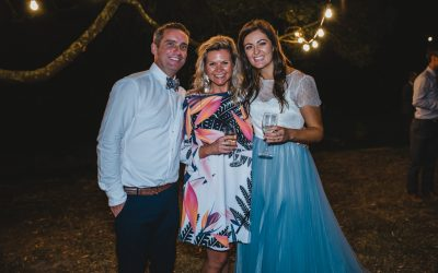 Abby's and Jamie's Epic Family Wedding | Garden Wedding Celebrant Menzies Creek