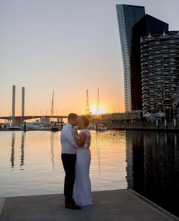 Melbourne Wedding Celebrant - All Smiles Docklands