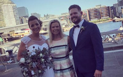All Smiles Wedding Docklands – Melbourne Wedding Celebrant