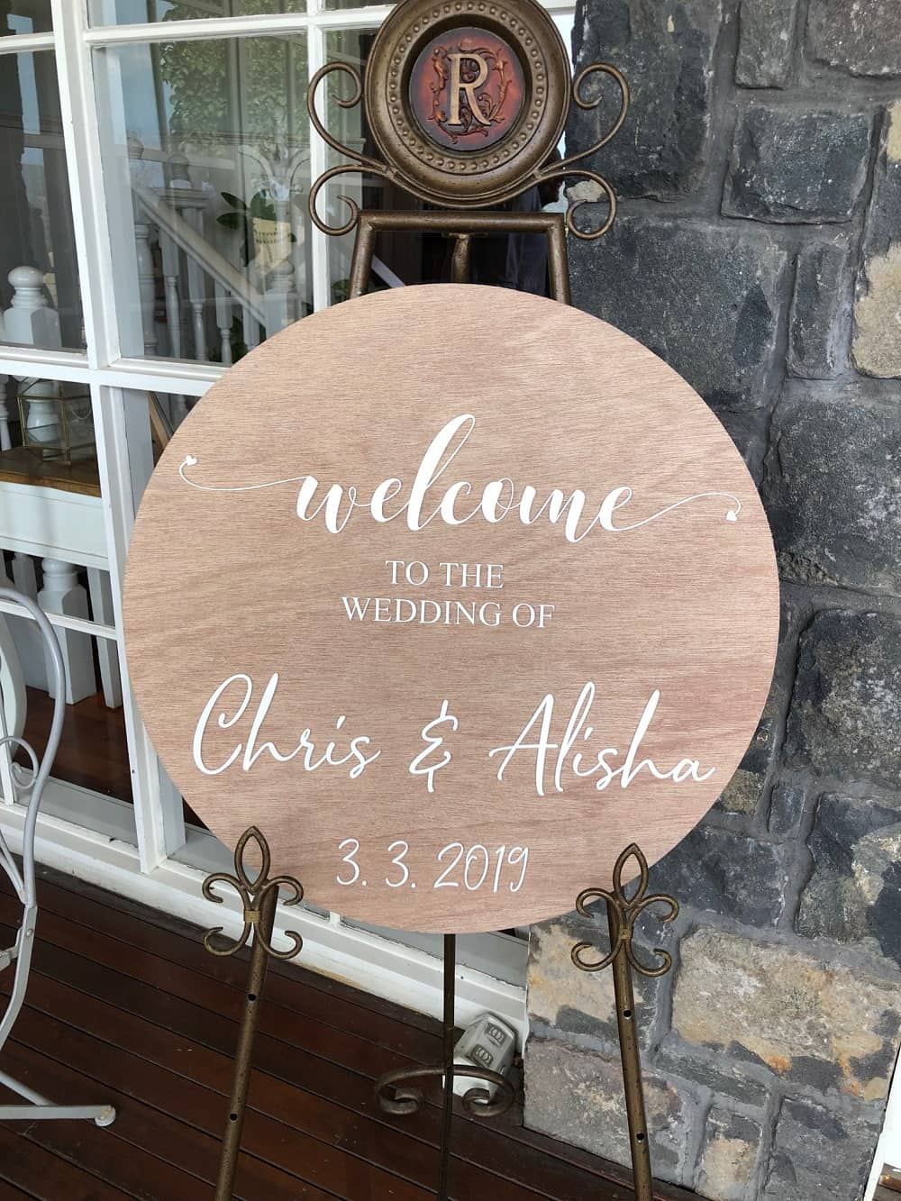Riverstone Estate Wedding - Wedding Signage