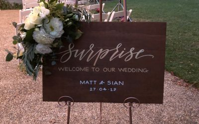 Melbourne Surprise Wedding Ceremony – Sian and Matt
