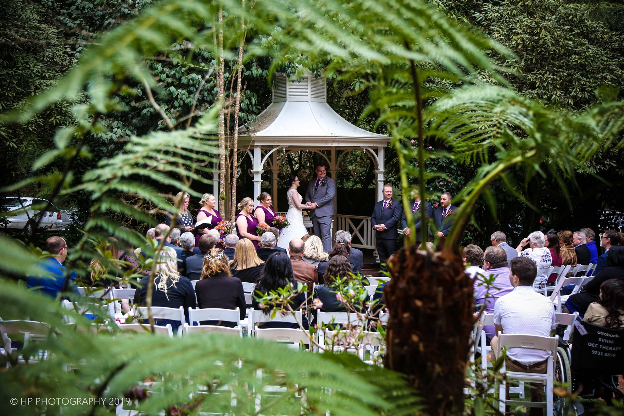 Julie Byrne - Lyrebird Falls Wedding Celebrant - Rechelle and Benjamin