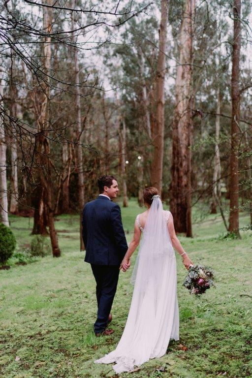 Julie Byrne Chateau Wyuna Wedding Celebrant - Jessica & Sean