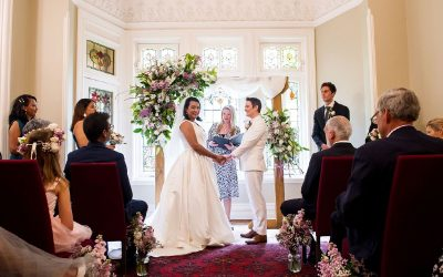 The Gables Wedding Celebrant – Claire & Audrey