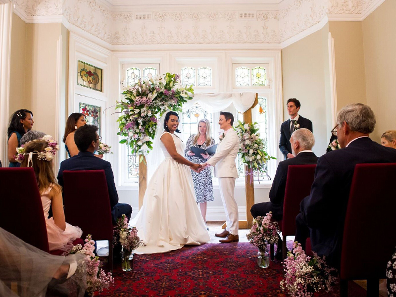 Julie Byrne - The Gables Wedding Celebrant - Wedding of Claire & Audrey