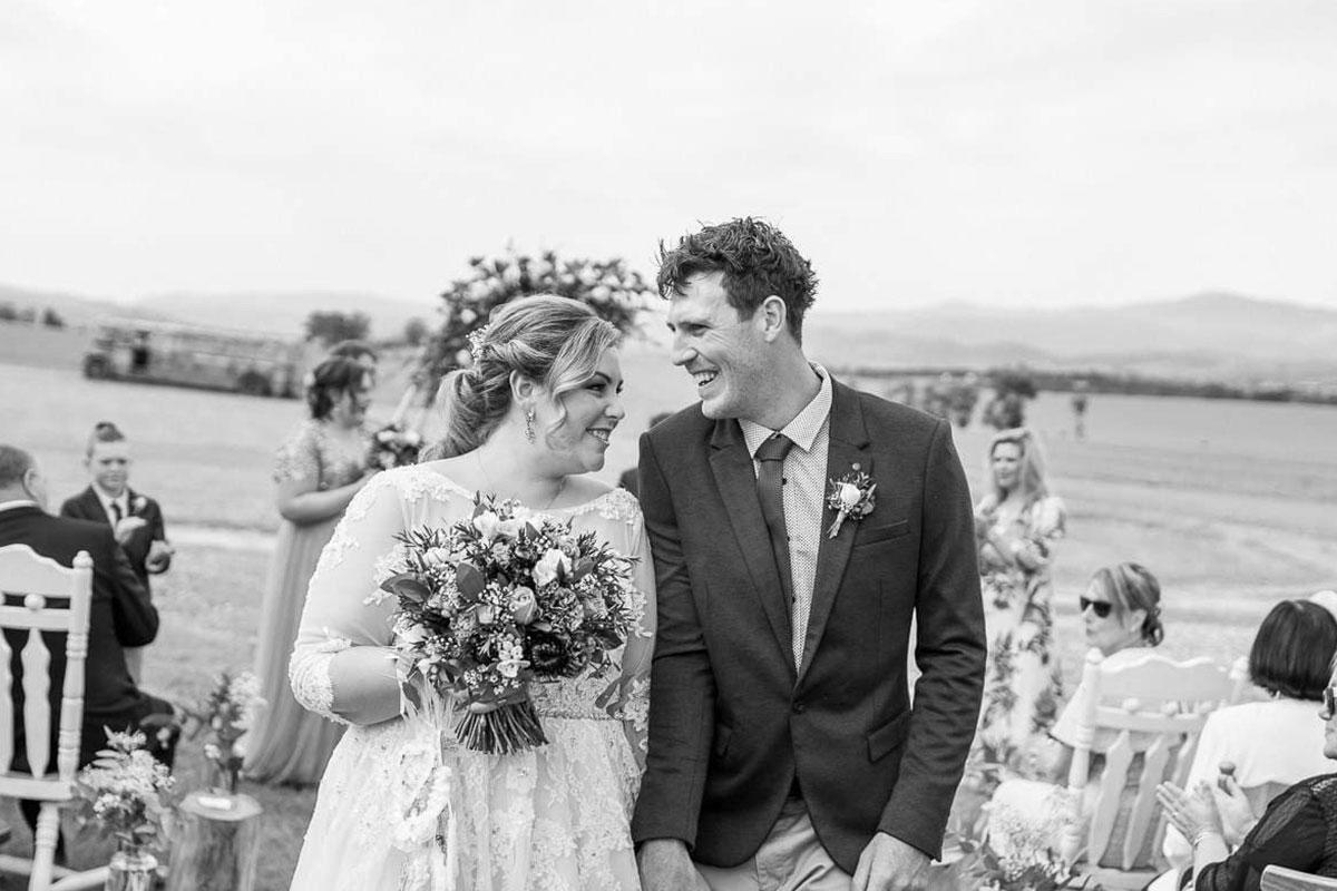 Julie Byrne Yarra Valley Wedding Celebrant - Kristy & Zac