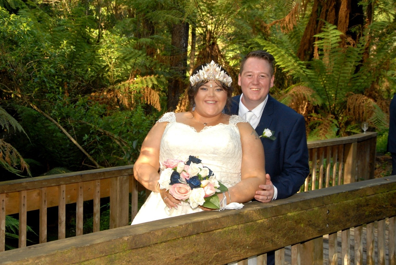 Dandenong Ranges Celebrant - Sara and Kyle's Wedding Day
