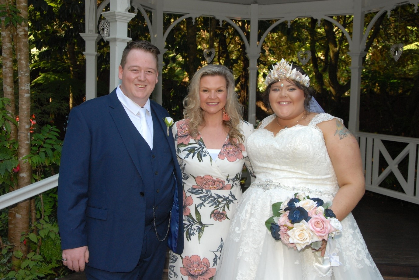 Dandenong Ranges Celebrant - Sara and Kyle's Wedding at Lyrebird Falls