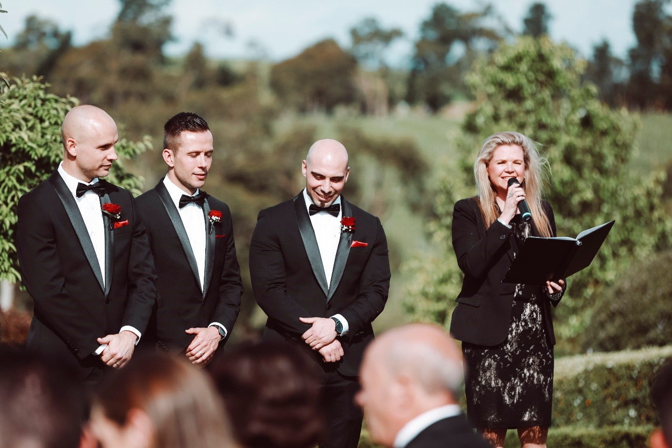Julie Byrne Wedding Celebrant - Anna and Shaun's Wedding at The Vines of the Yarra Valley