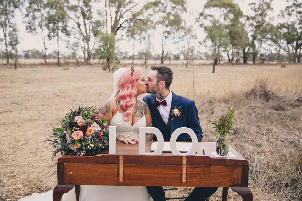 Lauren and Josh' DIY Wedding - Julie Byrne Celebrant Euroa