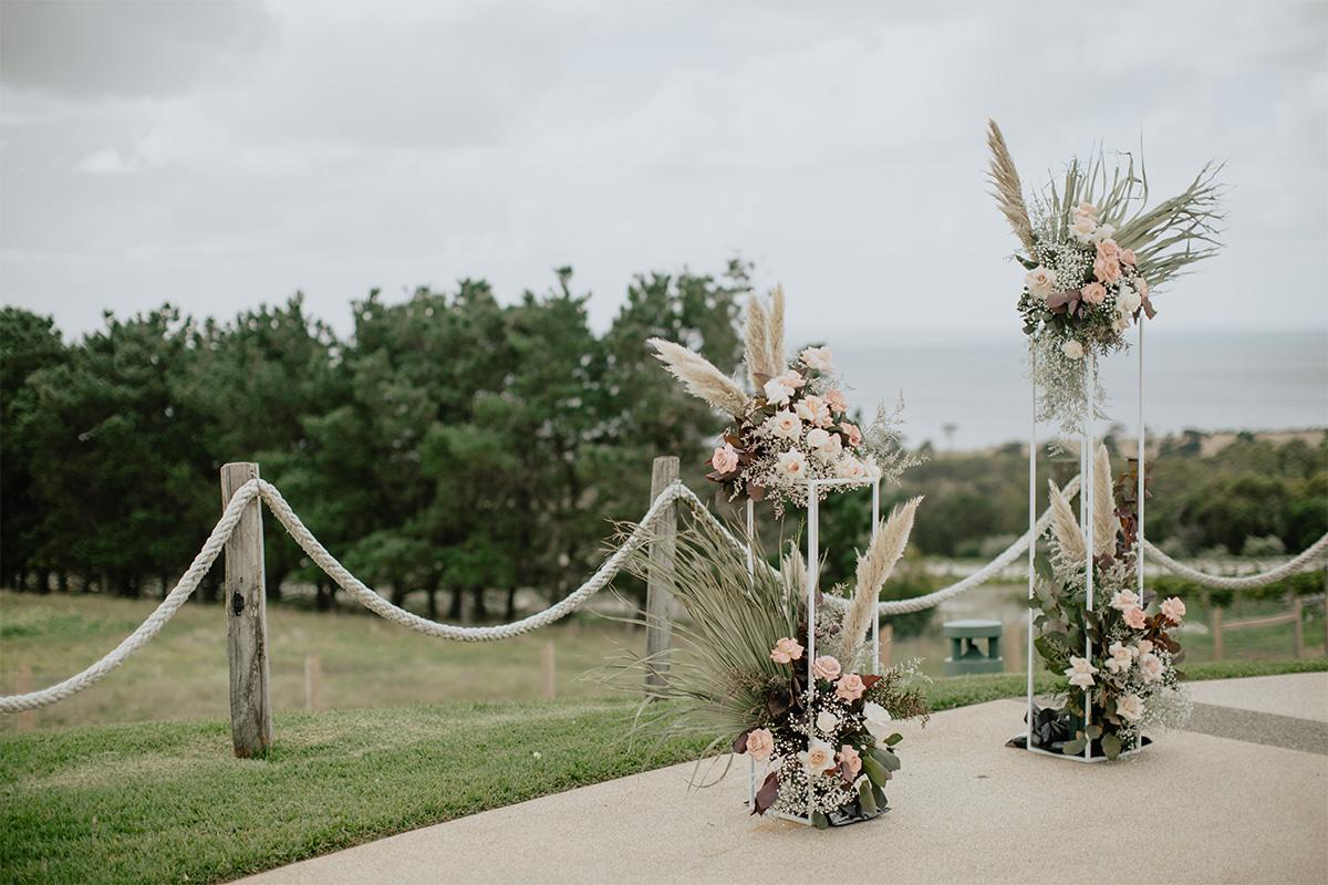 Julie Byrne Wedding Celebrant - Beach Wedding Melbourne - Styling