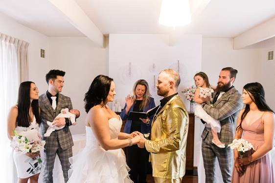 Covid Wedding Restrictions - Danni and Phil's COVID Restricted Wedding