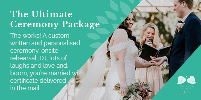 The Ultimate Ceremony Package
