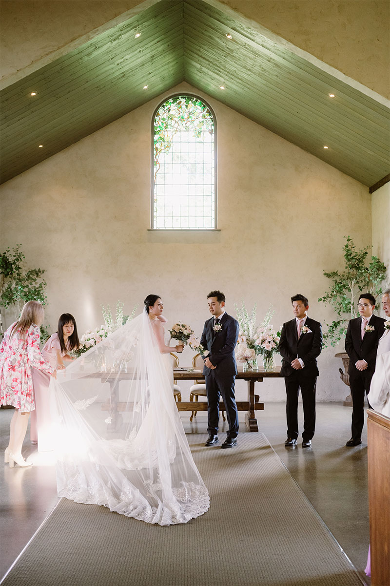 Julie Byrne Celebrant - Stones of the Yarra Valley - Siena and David's Wedding